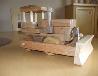 Planierraupe Holzspielzeug,Planierraupe