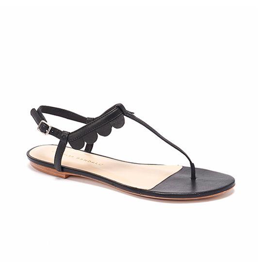 jude scalloped sandal / loeffler randall