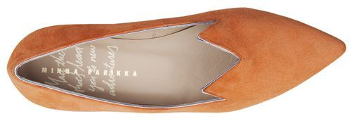 PURR ORANGE SUEDE | MINNA PARIKKA Online Shop - May these shoes lead you to new adventures