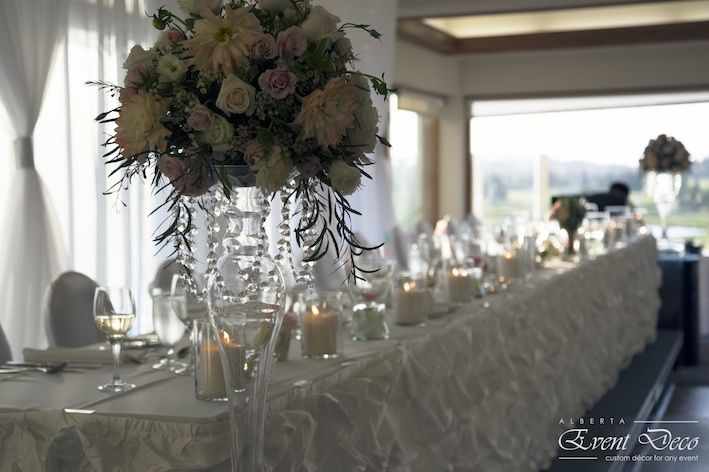 Head Table Decor - Candles