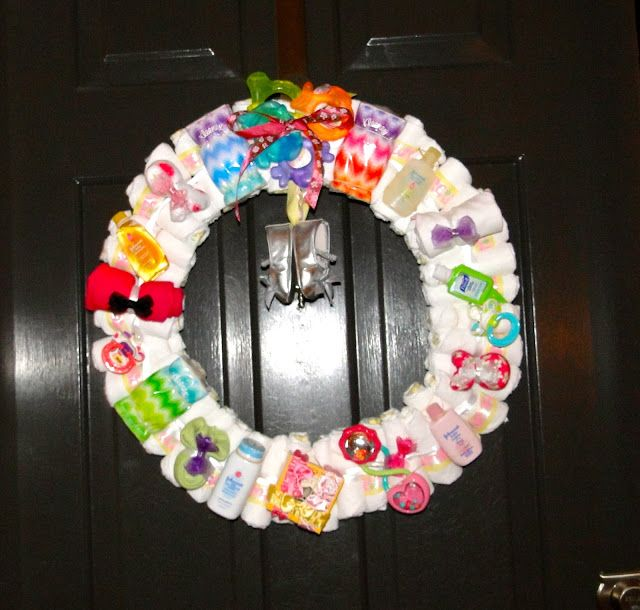 Behind The After: My Original Diaper Wreath 2nd Edition