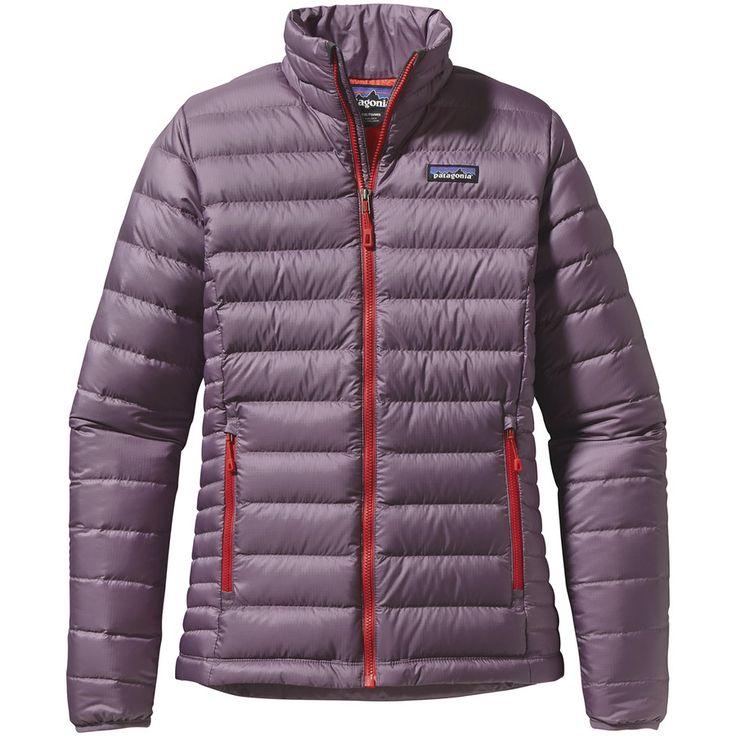 Women's Patagonia Down Sweater Jacket in Tyrian Purple, XS