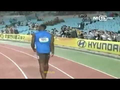 Usain Bolt last attempt breaks World Record on 100m
