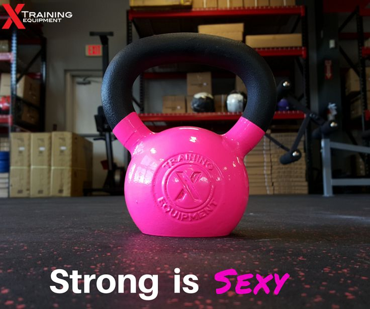Pink X Training Premium Kettlebell 35lb / 16kg - Free Shipping