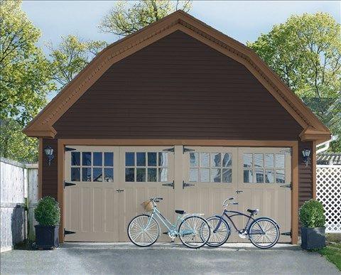 Peindre Porte Garage Bois - Maison Design - Homedian.Com