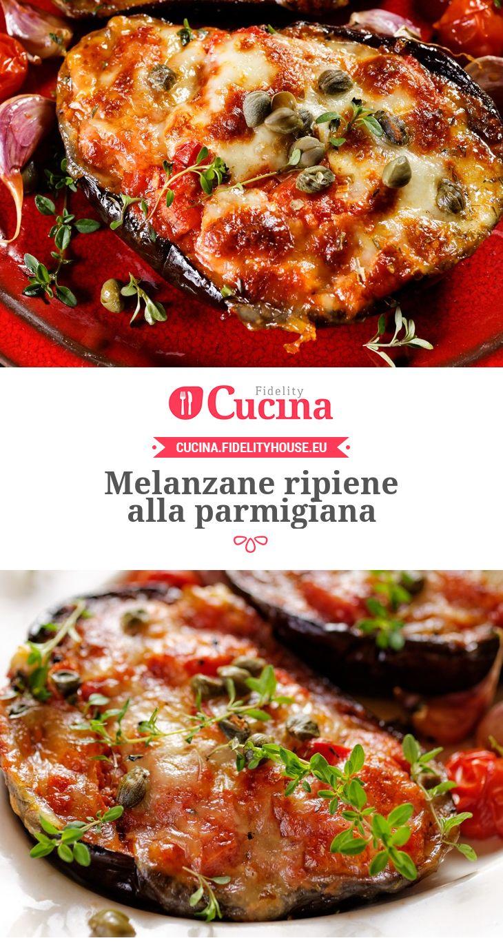 #Melanzane ripiene alla parmigiana