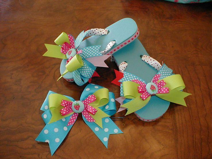 make hair bows little