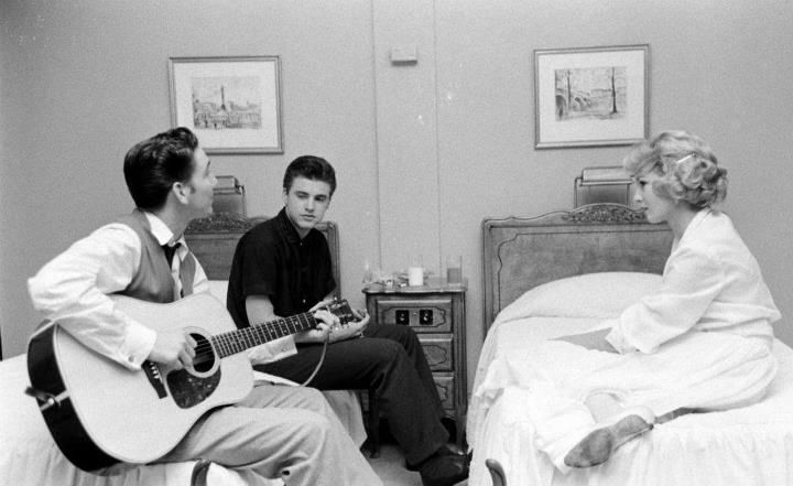 Pix For > James Burton Ricky Nelson