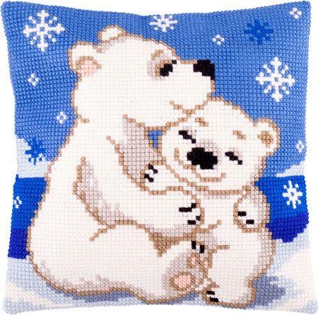 Bear polar cross stitch.