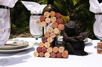 Números con corchos de vino! Cork table number