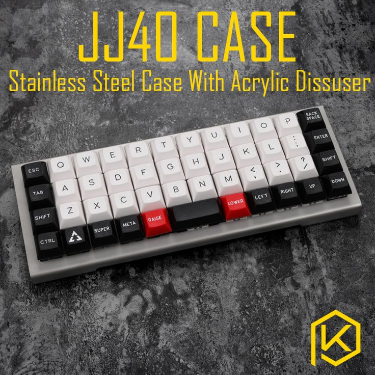 Find More Keyboards Information about stainless steel bent case for jj40 JJ40 40% custom keyboard acrylic panels acrylic panel diffuser also can support planck,High Quality stainless steel keyboard,China steel keyboard Suppliers, Cheap case keyboard from KPrepublic Store on Aliexpress.com