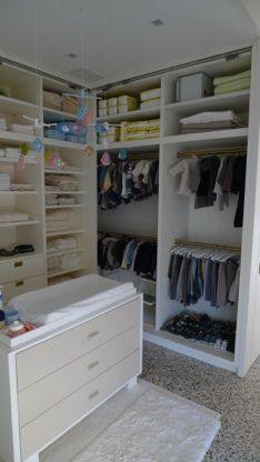 Alexis Stewart's baby closet