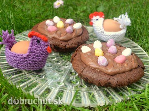 Fotorecept: Veľkonočné čokoládové hniezdo