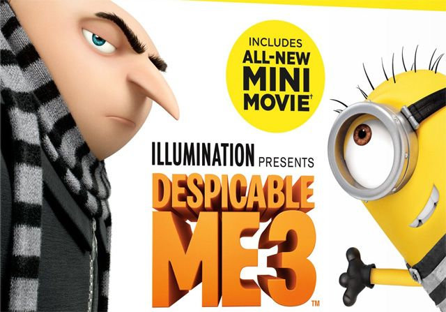 Despicable Me 3 Blu-ray Digital and DVD Details   Despicable Me 3 Blu-ray Digital and DVD details  Illumination Entertainment and Universal Pictures Home Entertainmenthave announced thatDespicable Me 3will be available on Digital and Digital 3D November 21 2017 and on 4K Ultra HD Blu-ray DVD and On Demand December 5 2017. Check out more Despicable Me 3Blu-ray Digital and DVD details below along with cover art in the gallery!  Click here to purchase Despicable Me 3 on Blu-ray Combo Pack!  The…