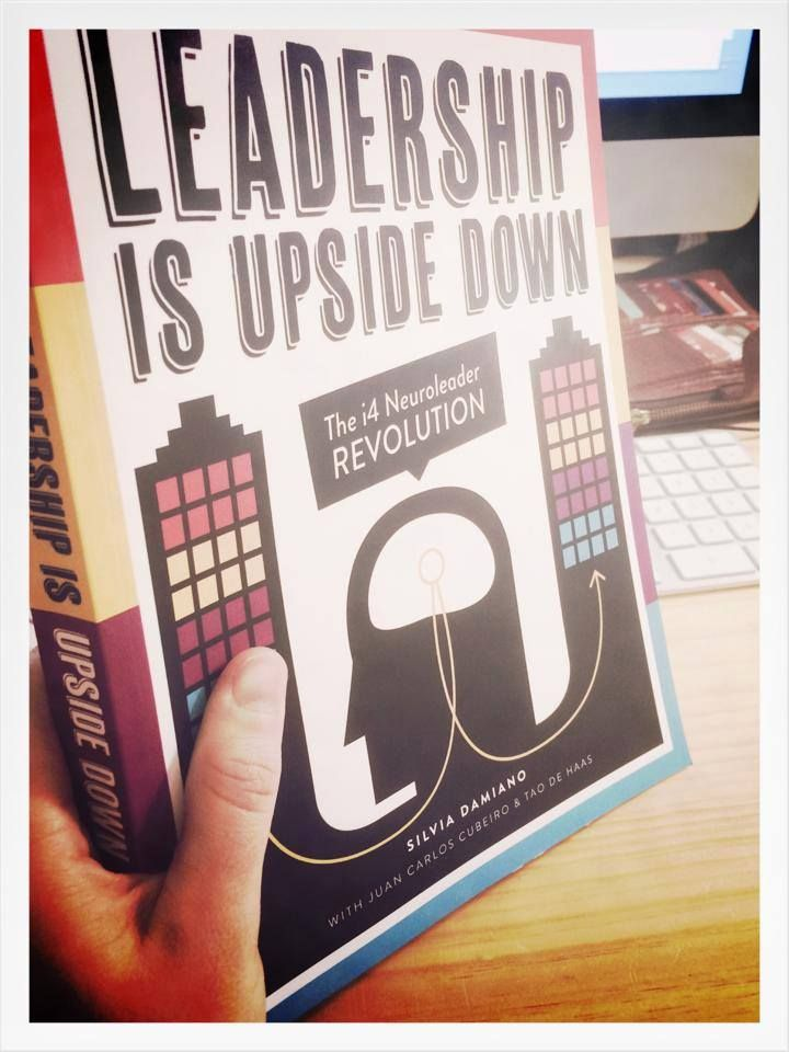 New Book #LeadershipUpsideDown written by third time author and global leadership consultant Silvia Damiano in collaboration with Juan Carlos Cubeiro & Tao de Haas #leadershipupsidedown #book