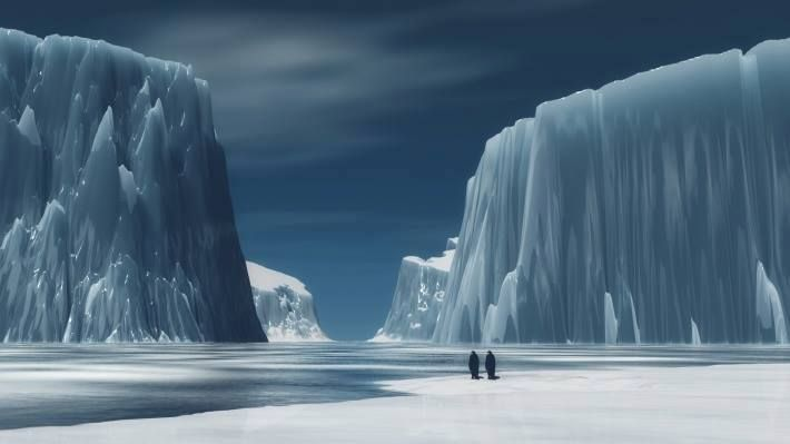 Antartica....the frozen beauty.