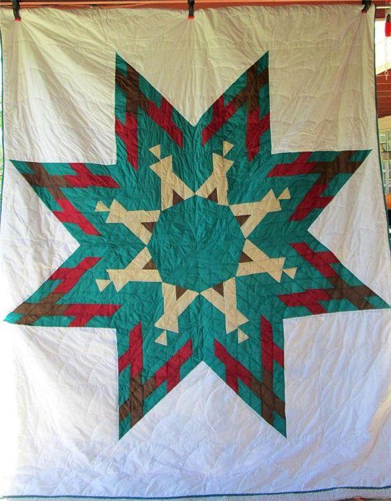 64 best Star Quilts images on Pinterest | Quilt block patterns ... : lakota star quilts - Adamdwight.com