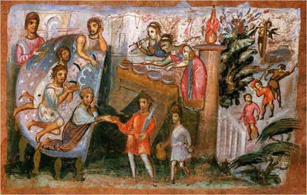 ΒΥΖΑΝΤΙΝΩΝ ΙΣΤΟΡΙΚΑ: Τα μουσικά όργανα της βυζαντινής περιόδου,  Κλεοπά...