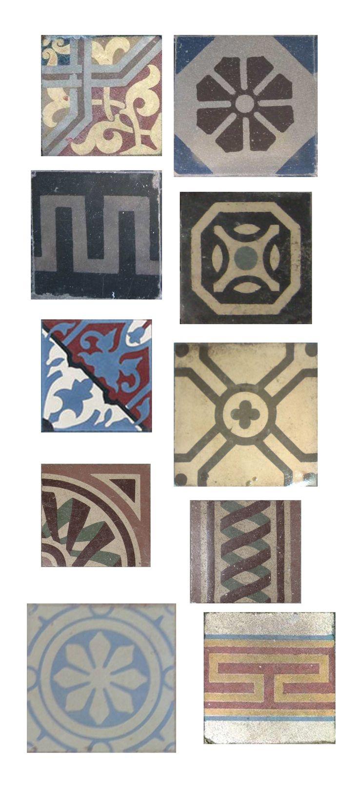 Historische Fliesen & motifs