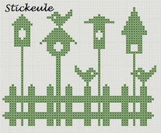 Stickeule (German) freebie