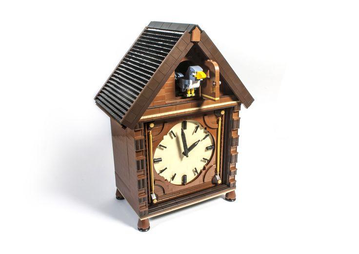 171 best LEGO clocks images on Pinterest   Lego, Legos and Awesome lego