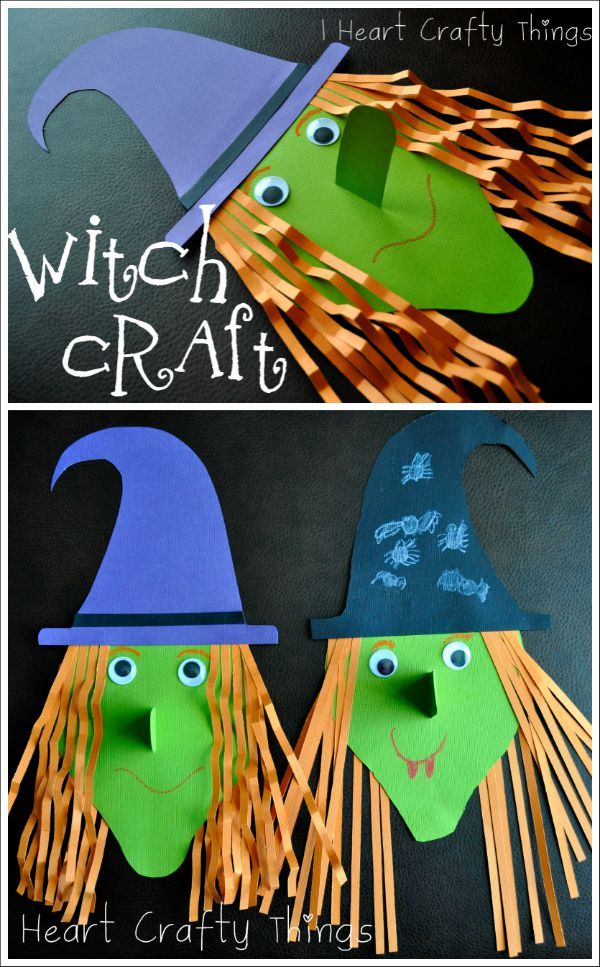 42 best Halloween Kids Crafts images on Pinterest Day care, Male - halloween kids craft ideas
