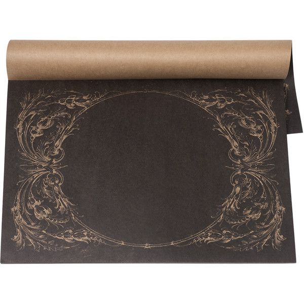 Kitchen Papers Archival Italian Scroll Placemats 25 Sheets 23 Liked On Polyvore Featuring