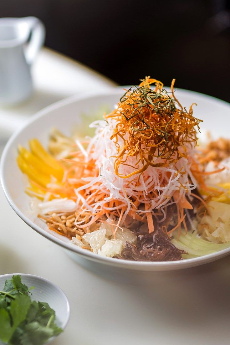Get ready for Chinese New Year with this prosperity salad recipe from Michelin-starred chef at Hakkasan Tong Chee Hwee.
