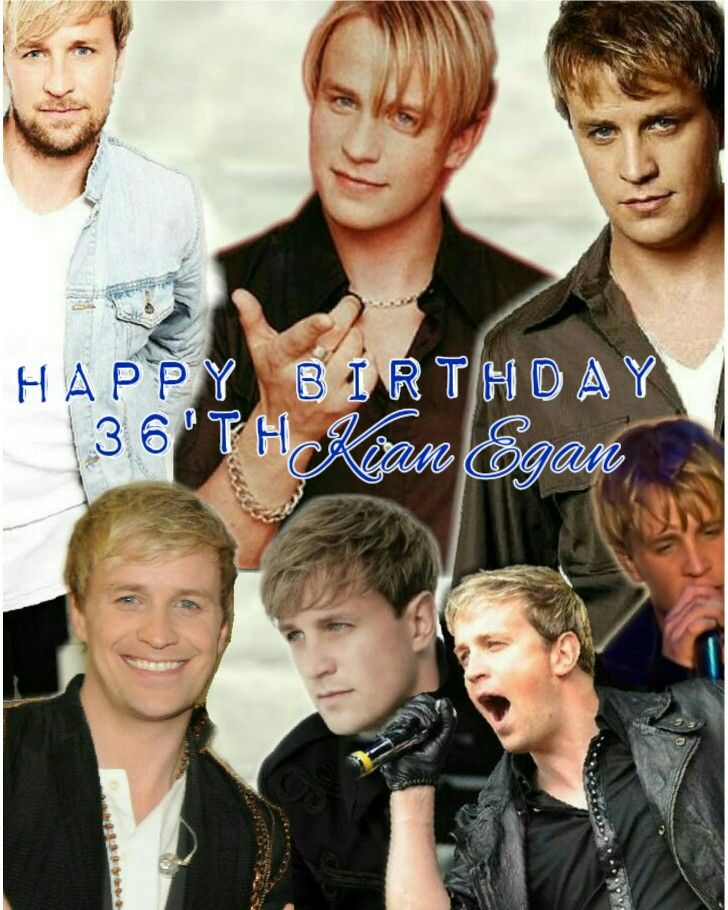 Kian Egan 36'th Birthday Anniversary