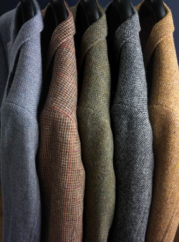 A fresh selection of our tweed sport coats