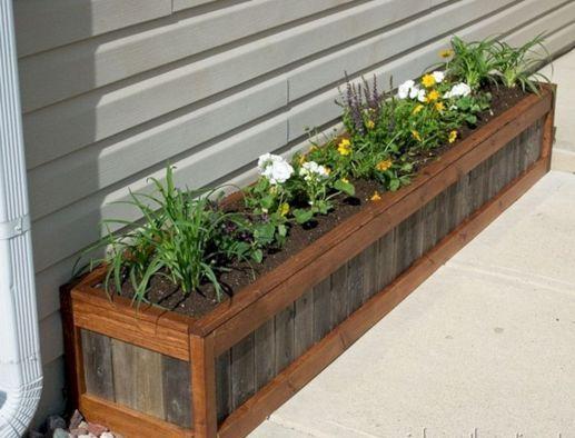 DIY Wooden Planter Box Ideas 14 (DIY Wooden Planter Box Ideas 14) design ideas and photos