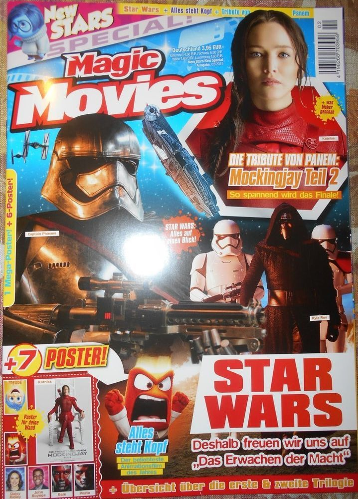 STAR WARS / THE HUNGER GAMES - Magazine special edition + 7 Posters German