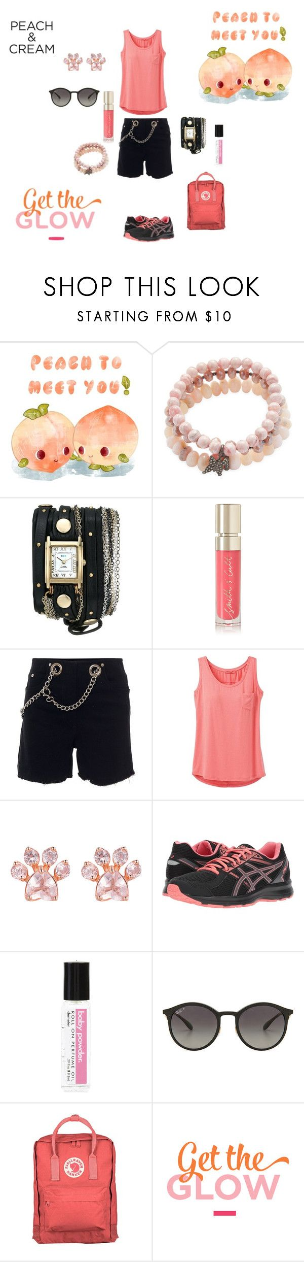 """Peach Dream"" by sweetpeachbellini ❤ liked on Polyvore featuring beauty, Bavna, La Mer, Smith & Cult, Miaou, prAna, Asics, Demeter Fragrance Library, Ray-Ban and Fjällräven"