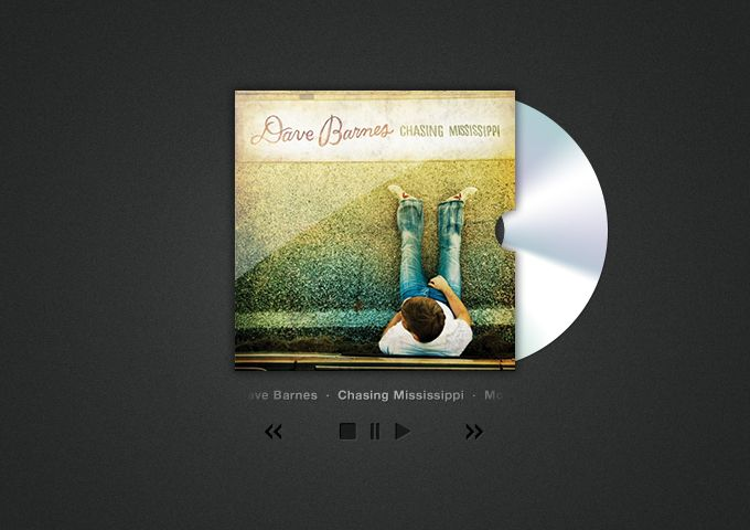 CD Cover Art and Player - 365psd