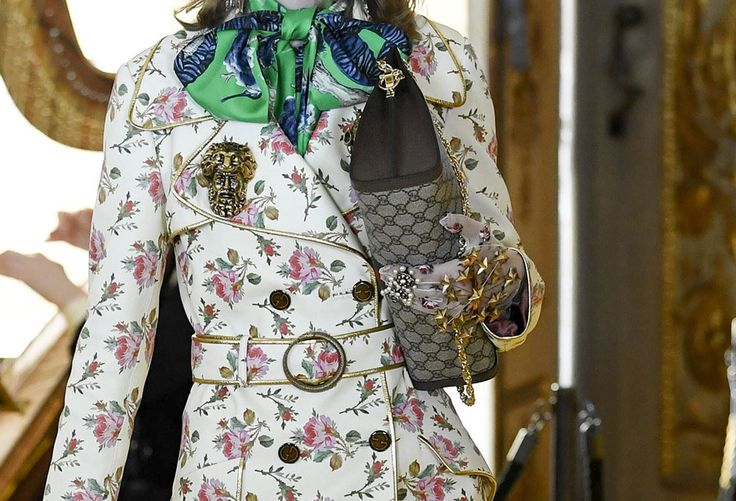 Gucci Debuts New Shoulder Bag Styles and More at Its Cruise 2018 Runway Show - PurseBlog