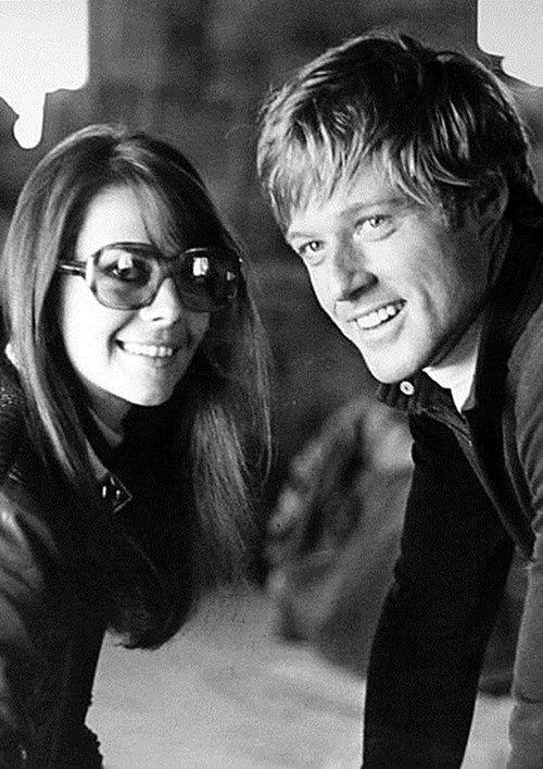 Natalie Wood with Robert Redford