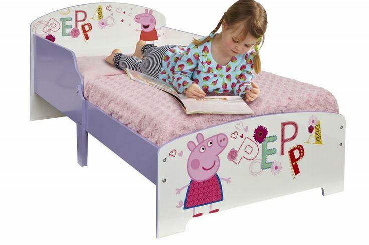 Buona Notte con Peppa Pig! Letto Personalizzato in Legno con Sponde ,Letti e Lettini Arredo Cameretta Bambina - TocTocShop.com ..