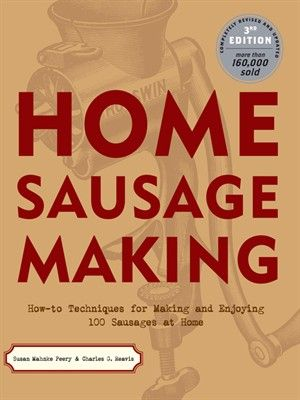 HOME SAUSAGE MAKING is the classic in the field. Now completely revised and updated to comply with current USDA safety standards, this new edition features 150 recipes. Included in the lineup are 100 recipes for sausages (cased and uncased) and 50 recipes for cooking with sausage, all written for contemporary tastes and cooking styles.