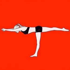 One of my Favorite Yoga Poses