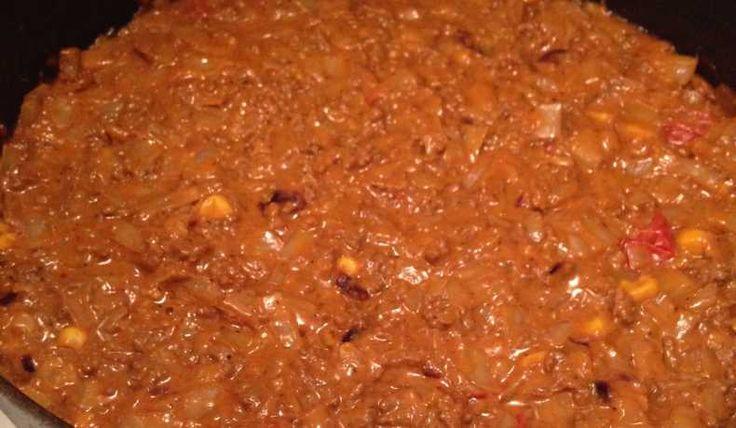 Köttfärsröra med vitkål, rödkål, blomkål & majs - Ett nyttigt och jättegott alternativ till vardagsfavoriten.  Kålen ger en lite sötare, nötaktig smak.