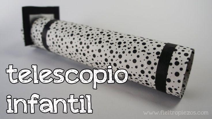 Cómo hacer un telescopio infantil (aprender las constelaciones)