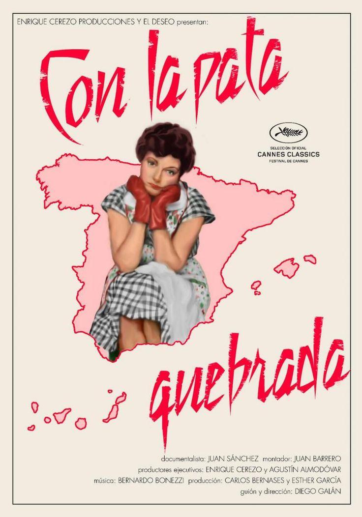 Con la pata quebrada España 2013. Director: Diego Galán.