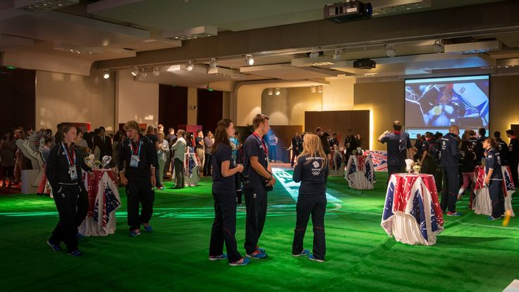As part of last week's build up to #Nanjing2014, Team GB's Chef de Mission Sarah Winckless and our 33 athletes attended a reception at the British Consulate in the city.  As part of the evening, yesterday's equestrian gold medallist Jake Saywell was announced as the flag bearer for the Opening Ceremony.  http://www.teamgb.com/news/team-gb-help-inspire-creative-future-nanjing
