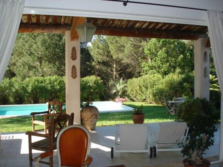Location vacances villa Grimaud: Terrasse / Balcon