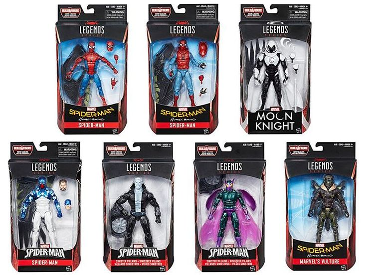 Incoming in June:Marvel Legends Spider-Man homecoming Build a Wing series! (singles available) Get them at: http://www.bigbadtoystore.com/bbts/product.aspx?product=HAS25450&mode=retail&utm_source=youtube&utm_medium=link&utm_campaign=hunterknight4