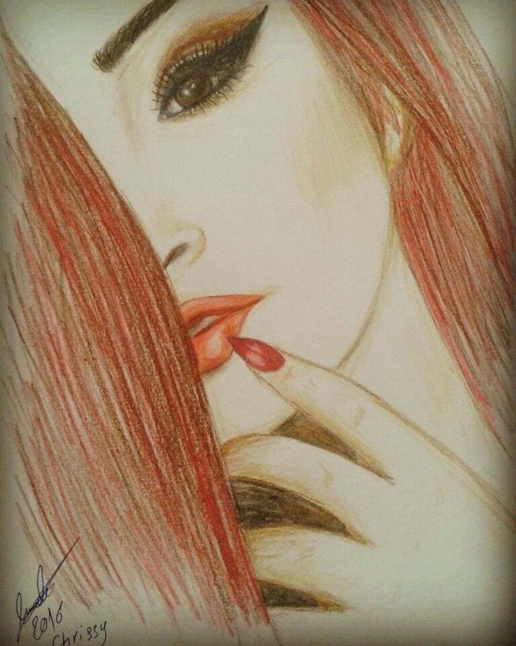 My drawing for chrissy Costanza