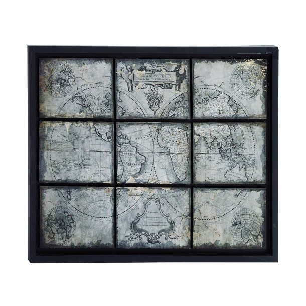 9 Square Map | New Releases | Wall Decor | Pictures | Framed Art | Canvas | Blockmount | Prints