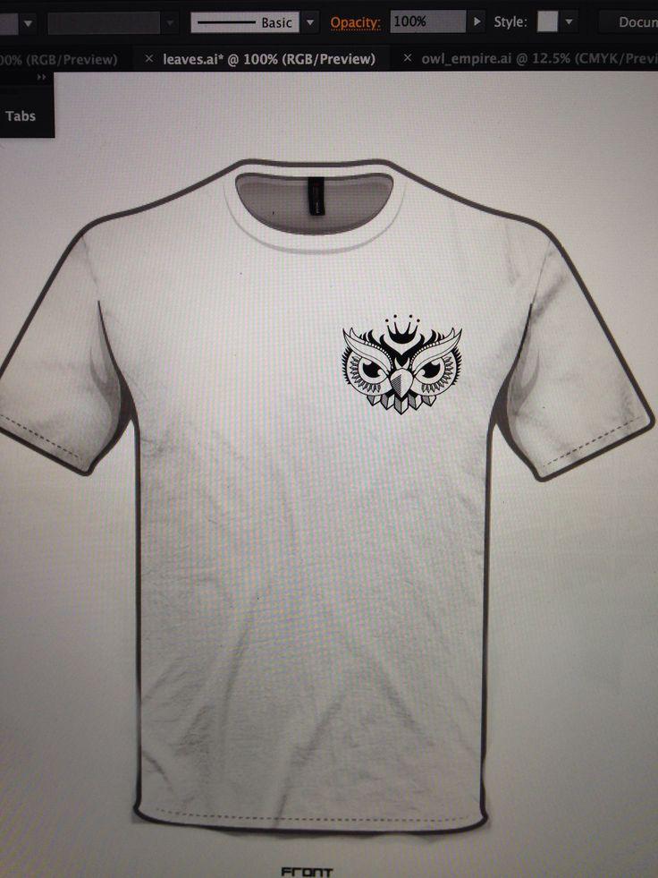 Owl tshirt design 1