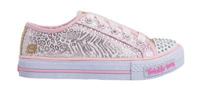 Skechers - Gimme Glam - White/Pink/Gold