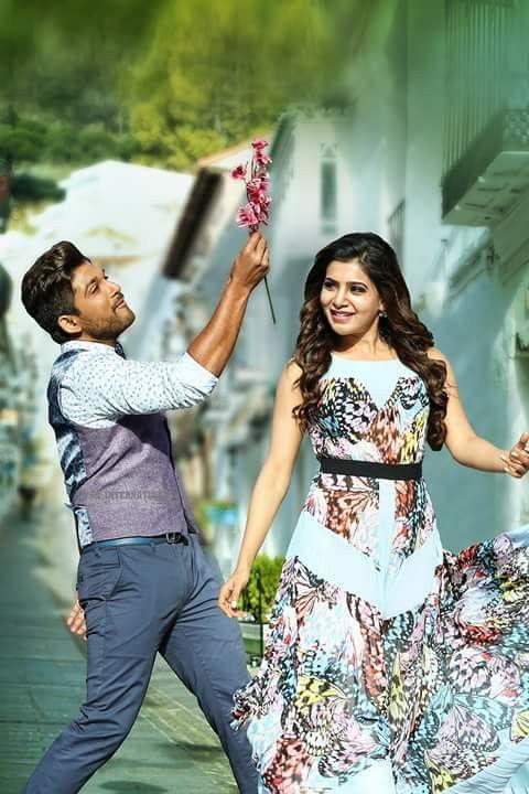 Allu arjun & Samantha ruth prabhu